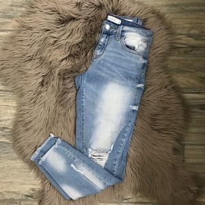 🌿SALE🌿 Cello distressed skinny jeans